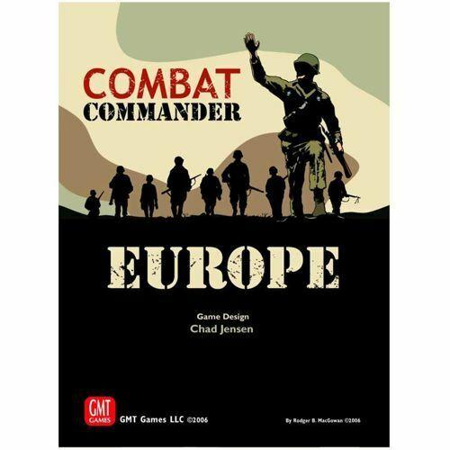 soporte minorista mayorista Comandante de Combate  Europa (reimpresión) GMT Juegos Nuevo y y y Sellado  muy popular