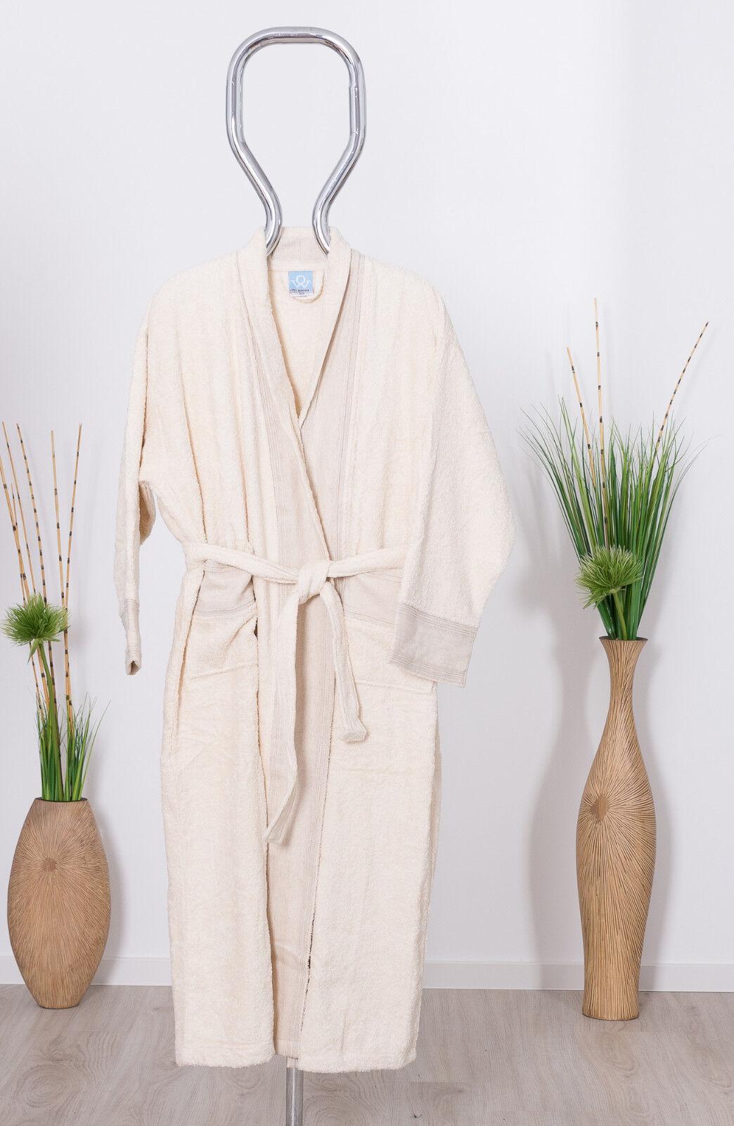 Bademantel Wewo-Fashion 3010 natur Neu versch.Grössen
