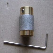 """3/4"""" STAINED GLASS GRINDER BIT HEAD 4 INLAND OR GLASTAR TOP QUALITY BRASS!"""