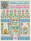 Donna Kooler's 555 Cross-stitch Sampler Motifs by Donna Kooler (Hardback, 2008)