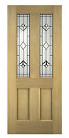 Oak External Front Door Thornbury Glazed 78x33 (1981x838x45mm)