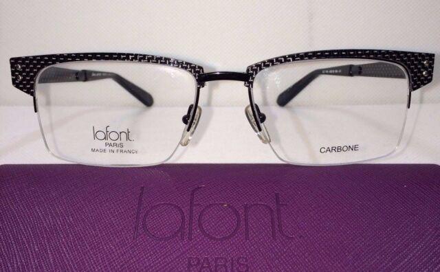 Jean Lafont OLT 100 Black Size 55/18/150 Eyeglasses Frames Eye Glass ...