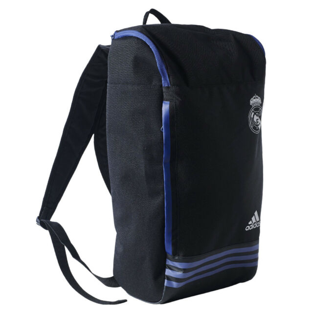 70d988dae9fd adidas Real Madrid Backpack Sports Football Fan Rucksack Notebook Pocket