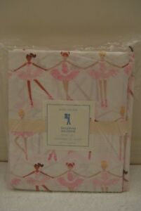 Pottery Barn Kids Magical Fairy Organic Standard Pillowcase NWT Ballerina Dance