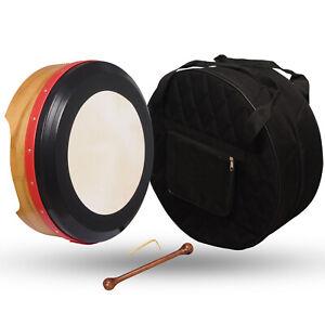 35.6cmX15.2cm Premium Muzikkon Bodhran Maulbeere Tief Melodie