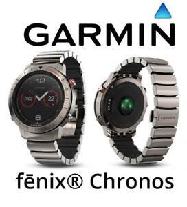 b4d1db7afc0 Image is loading Garmin-Fenix-Chronos-GPS-Watch-Titanium-Hybrid-Band-
