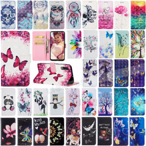 Leather-Wallet-Phone-Case-Cover-For-Samsung-Galaxy-A50-A40-A30-A20-A70-M20-M30