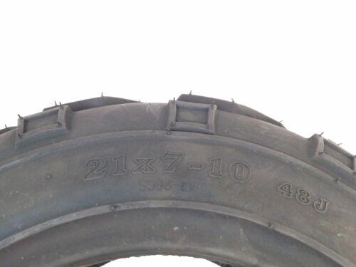 Tubeless Tire 21x7-10 Front or Rear ATV UTV Go Kart 175//80-10