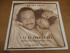 "Quincy Jones ‎– I'll Be Good To You     Vinyl 12"" UK 1989 Hip Hop  QWEST W2697TX"