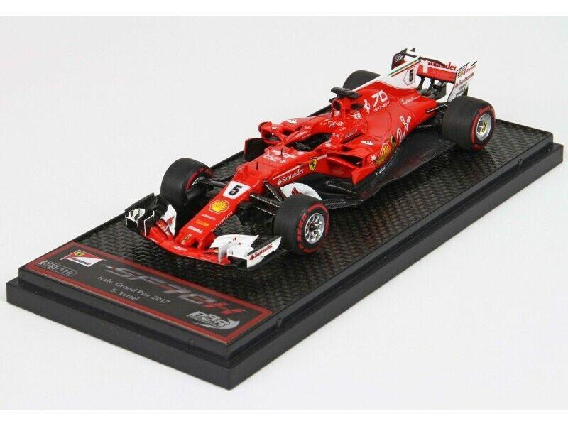 BBR Models 1 43  Ferrari sf70h GP  2017 Vettel model  magasin en ligne