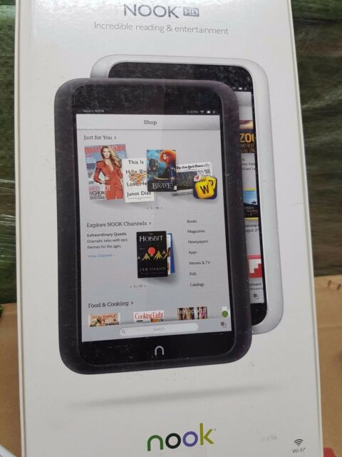 DRIVERS FOR BARNES & NOBLE NOOK HD TABLET