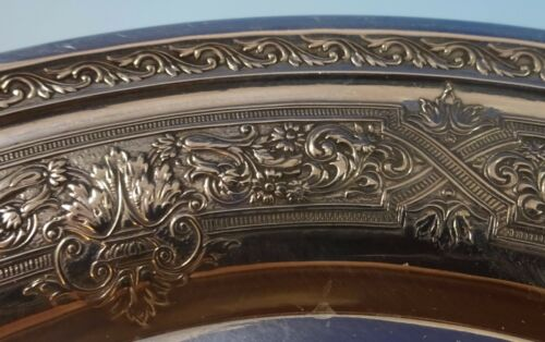 Renaissance by International Sterling Silver Dessert Plate #H418 #1229