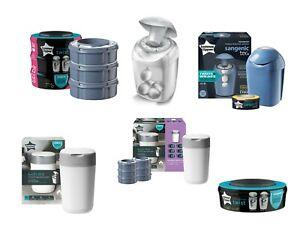 Baby-Nappy-Sacks-Disposal-Bin-Tub-Refill-Cassette-Tommee-Tippee-Sangenic-Bucket