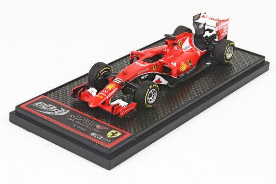 Ferrari F1 Sf15-T  5 2Nd  Gp 2015 Sebastian Vettel rosso BBR 1 43 BBRC174A