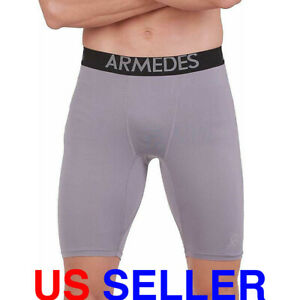 Mens Compression Shorts Underwear Gym Sports Base Layer Leggings Slim Trousers