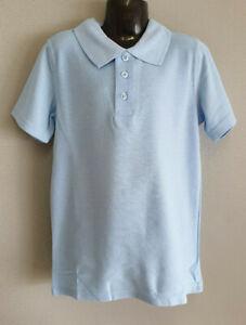 BNWT Boys//Girls Sz 6 Target Schoolwear Brand Smart Gold Short Sleeve Polo Top