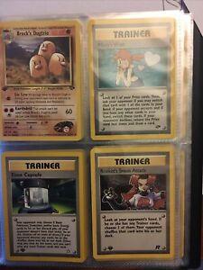 Pokemon Vintage Binder 1st Edition