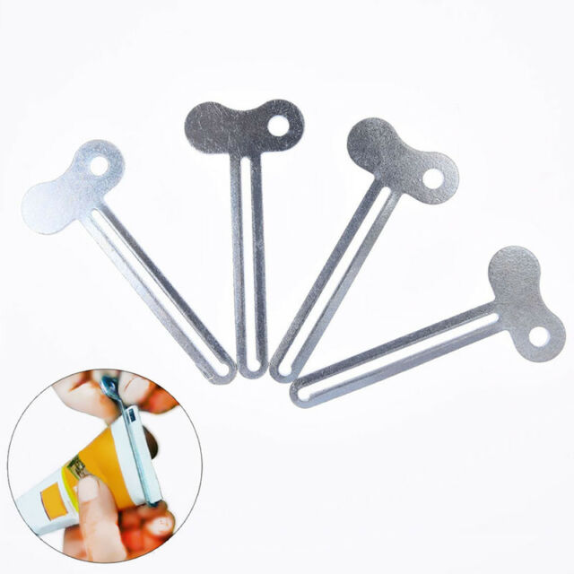 easy metal tube u shape toothpaste hair dye cosmetic oil paint squeezer tool O1