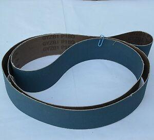 10 Premium Abrasive Sanding Belts 2 Quot X 72 Quot Zirconia 180