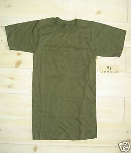 Genuine-US-Army-100-Cotton-Green-Crew-Neck-T-Shirt-Size-XXS-NEW
