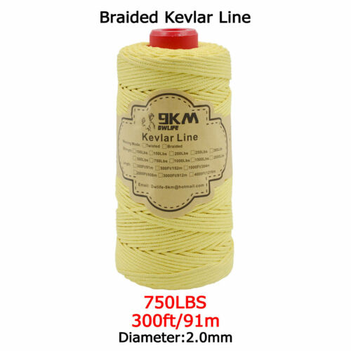 Kevlar Kite Line Fishing Assist Cord Kite Flying Camping Tent Made With Kevlar