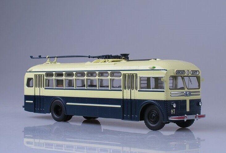 Start  Scale Models (SSM) 1 43. mtb-82d Russian trolleybus.  nouveaux produits nouveautés