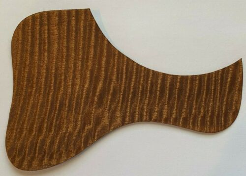 Pickguard for Acoustic Guitar Universal Real Flame Maple  Wood Honey TRP-01