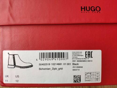 Hugo Boss bohème hommes bottes 100/% cuir double fermeture à glissière