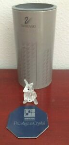SWAROVSKI-SILVER-CRYSTAL-KANGAROO-MOTHER-W-JOEY-IN-POUCH-AUSTRIA-NEW-OLD-STOCK