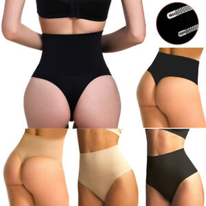 832ca72c24 Women Body Shaper Tummy Corset High Waist Panty Underwear Thong ...