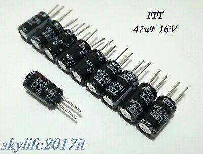 10 pz Condensatori elettrolitici 47uF 35V 10 pezzi condensatore