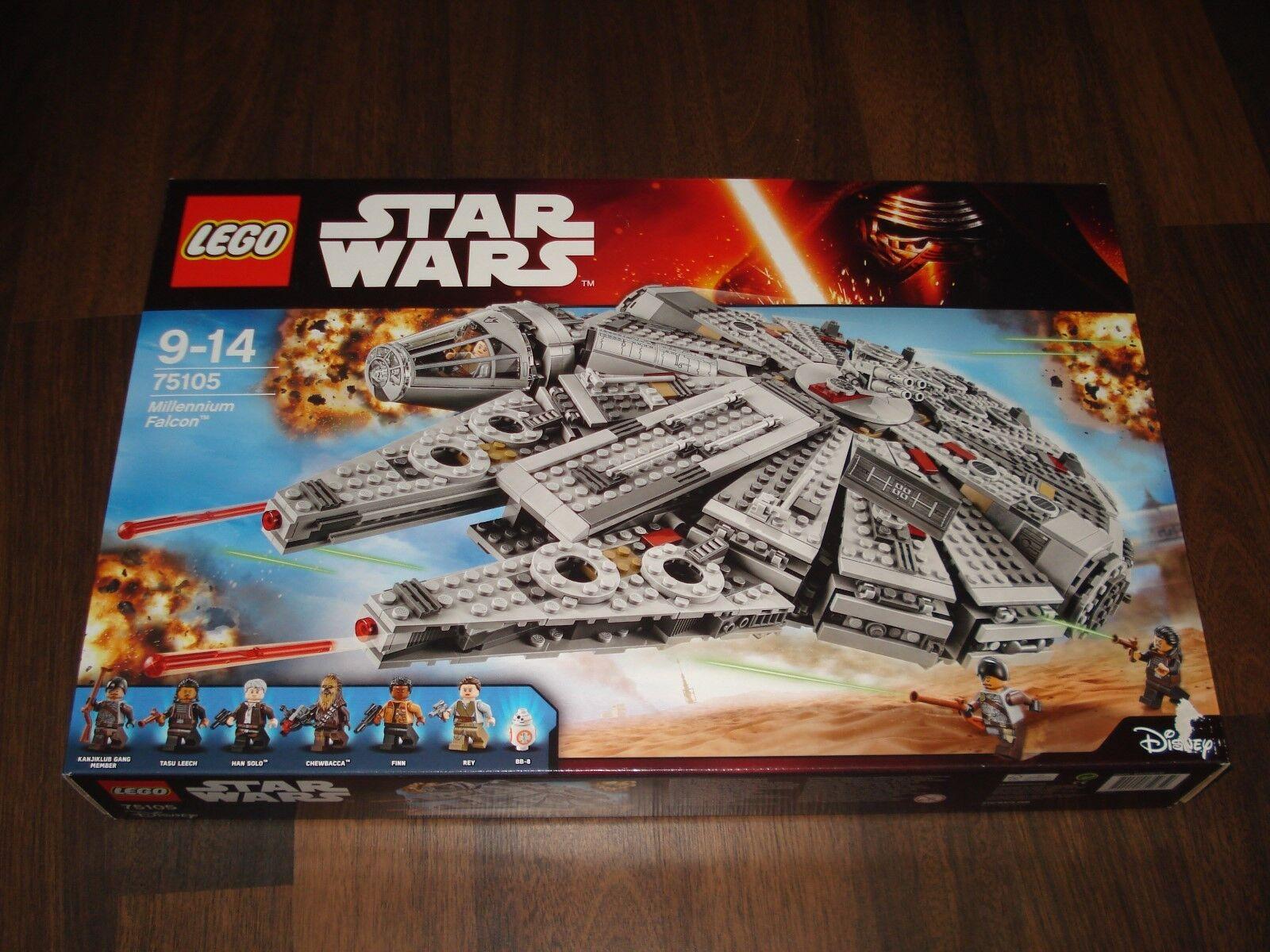 *BRAND NEW* Lego Star Wars 75105 Millennium Falcon Star Wars MISB Set x 1