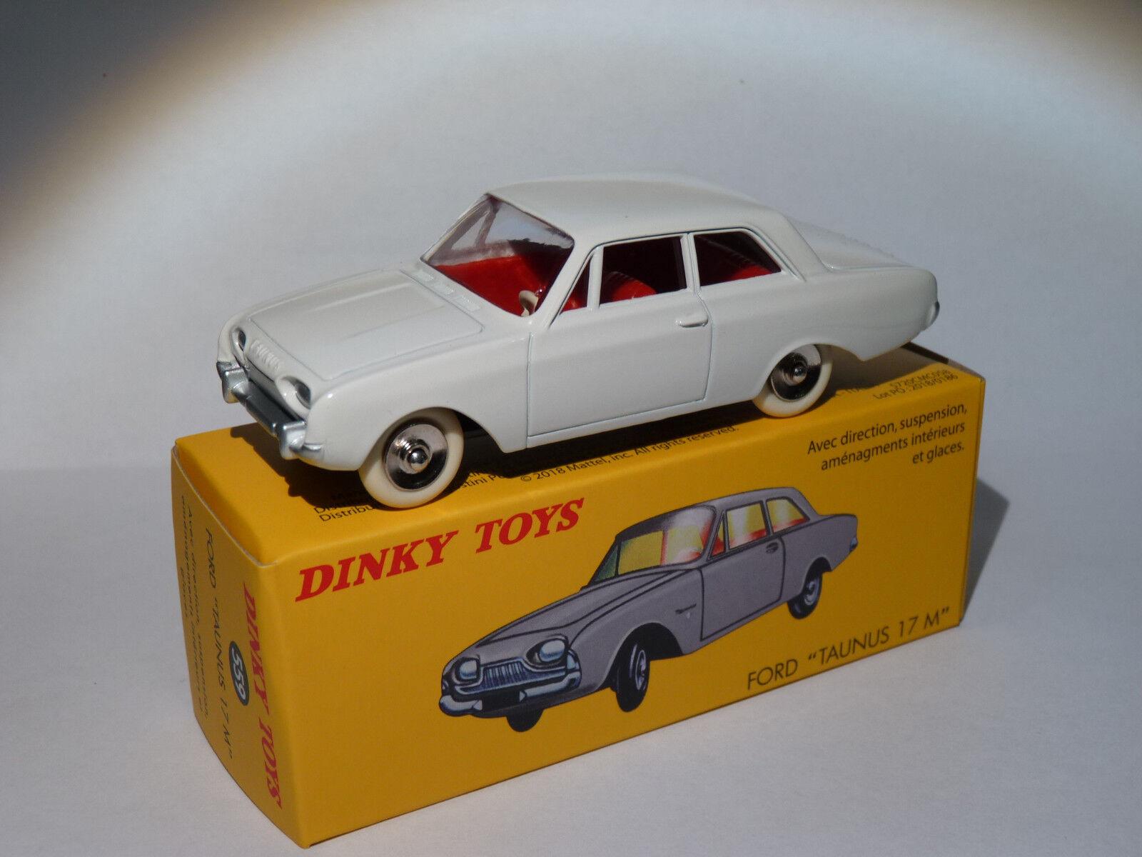 2nd choice   Ford Taunus 55 10 12ft   55 ref. 559 au 1 43 dinky toys DeAgostini