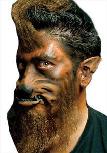 Image Is Loading Werewolf Ears Latex Prosthetic Costume Makeup Cswo099