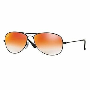 94362eec7a1 Sunglasses Ray-Ban Highstreet Cockpit Rb3362 002 4w 56 Shiny Black Red  Mirror