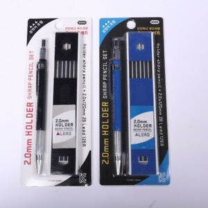 2B de 2 mm portaminas automático de Redacción Mecánica lápiz 12x Ventas