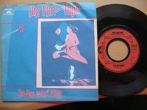 Single-7-034-the-Flat-Tops-034-the-Bop-won-t-Stop-034-anno1981-Sehr-gut-erhalten