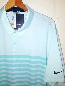 a28907903 Nike Golf Stretch Woven Polo Shirt Men 2XL NEW  75.00 Light ...