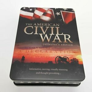 The-American-Civil-War-Collector-039-s-Edition-5-DVD-Tin-Box-Set-w-Booklet