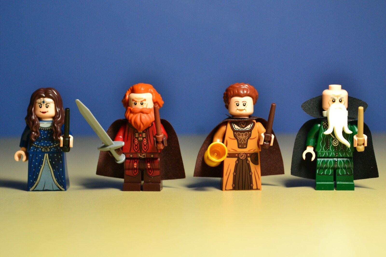 Lego Harry Potter 71043 Salazar Helga Hufflepuff Rowena & Godric Minifigures