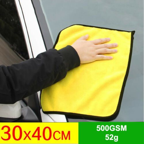Car SUV Wash Microfiber Towel Auto Cleaning Drying Cloth Hemming Super Absorbent