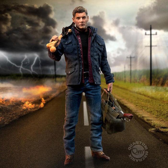 QMX Supernatural Dean Winchester 1 6 Scale ARTICULATED FIGURE