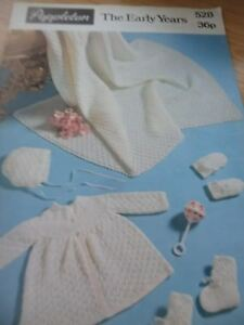 Uni Vintage Années 1970 Poppleton Knitting Pattern Livret Au Début Des Années 21 Motifs-afficher Le Titre D'origine