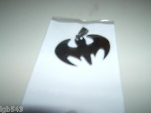 MIP Batman logo Stainless Steel Dog Tag w/ 30 inch ball