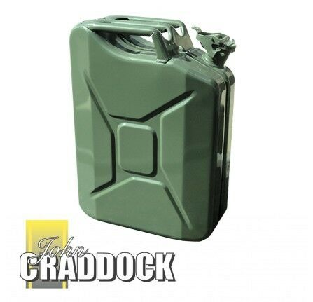 TUV Certified Free Shipping! JERRY CAN 20L GREEN