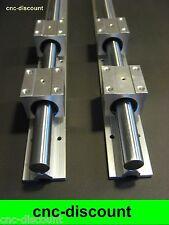CNC Set 12x 600mm Linearführung Linear Guide Rail Stage 3D Fräse