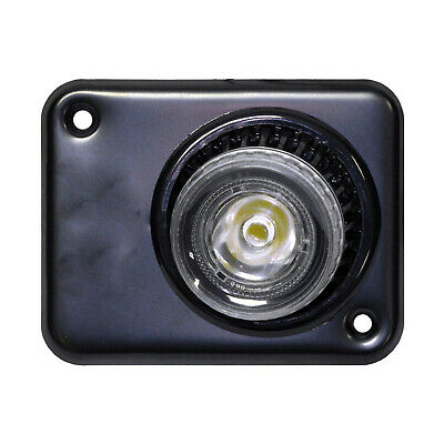 MARINE BOAT RV LED CEILING LIGHT WITH SWIVEL LENS RECESSED MOUNT
