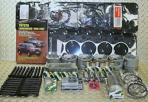 Details about LANDCRUISER 1HDT 4 2 DIESEL FULL ENGINE KIT 8/92 ON