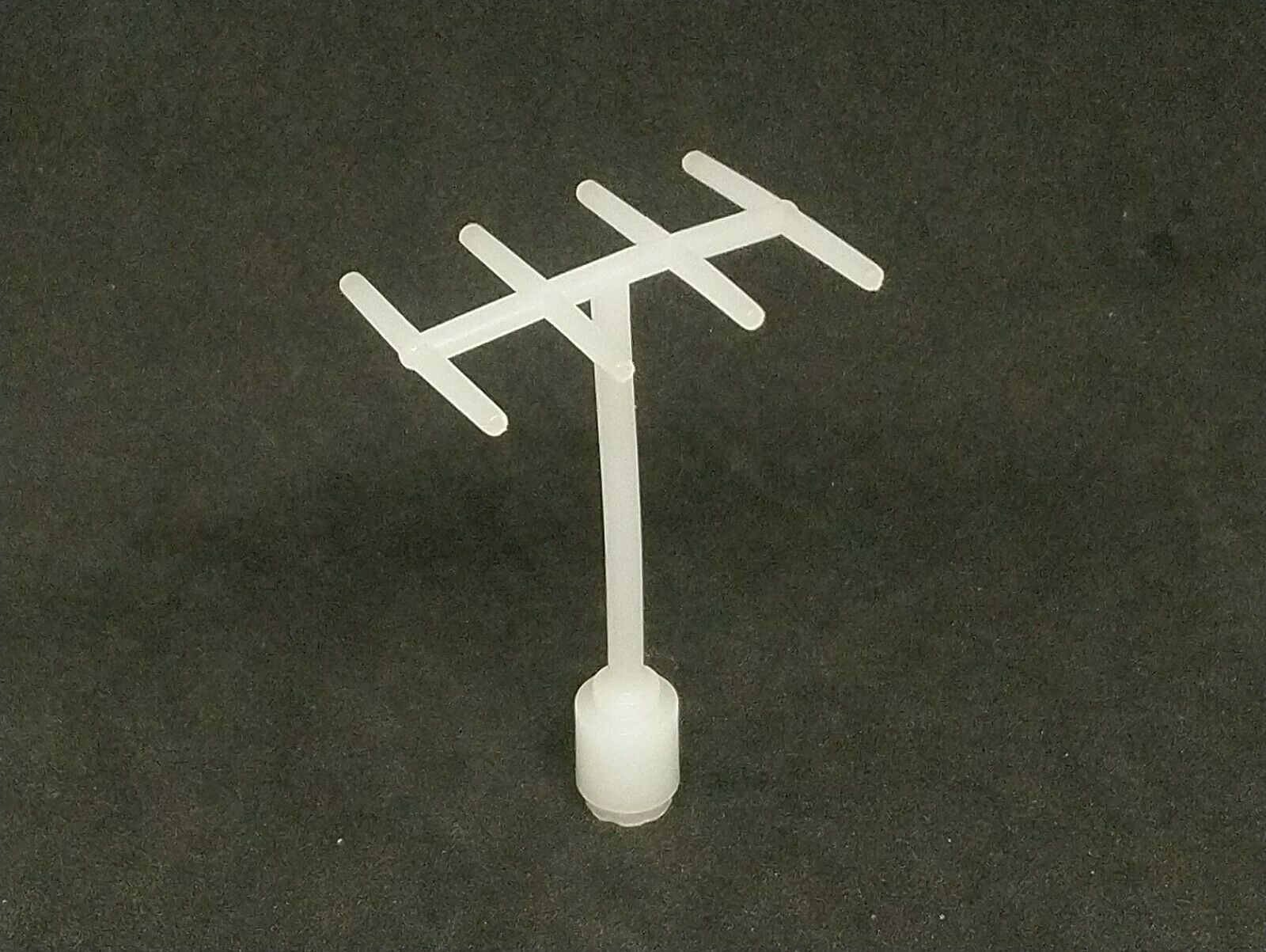 Lego Antenna with 8 Side Spokes, Vintage [3144] - Milky White x1