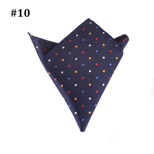 Fashion Cotton Formal Suit Pocket Square Handkerchief Hanky Dress Wedding Party